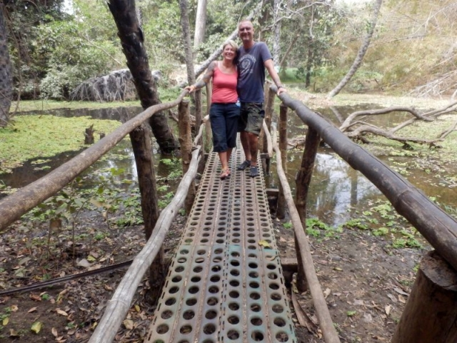 Brücke im Abuko Nationalpark