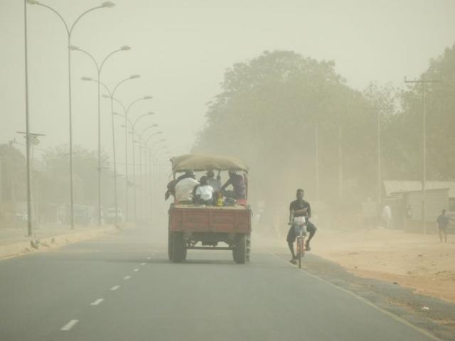 Sandsturm in Gambia