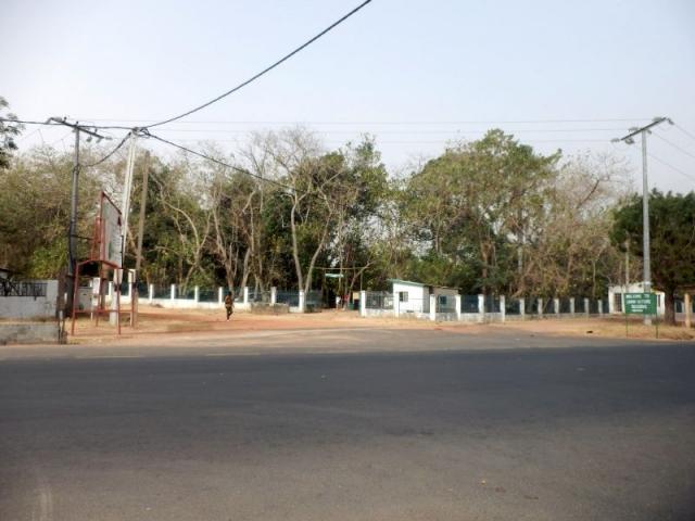 Eingang Abuko Nationalpark