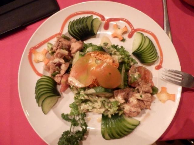 Salat mit Chicken