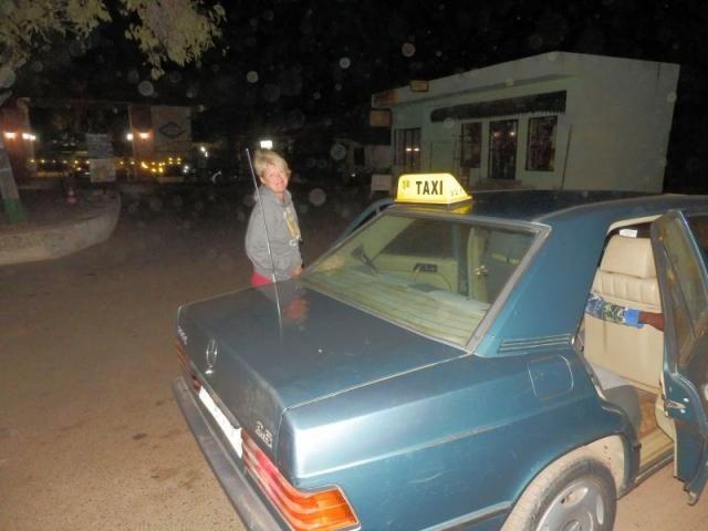 Unser Taxi nach Georgetown