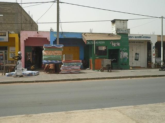 Ladenzeile