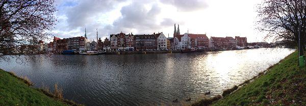 Panoramabild Lübeck