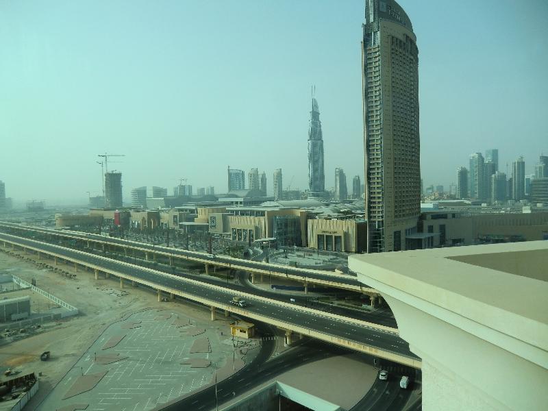 Noch ein Ausblick aus dem Hotel