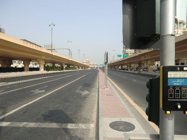Breite Straßen überall