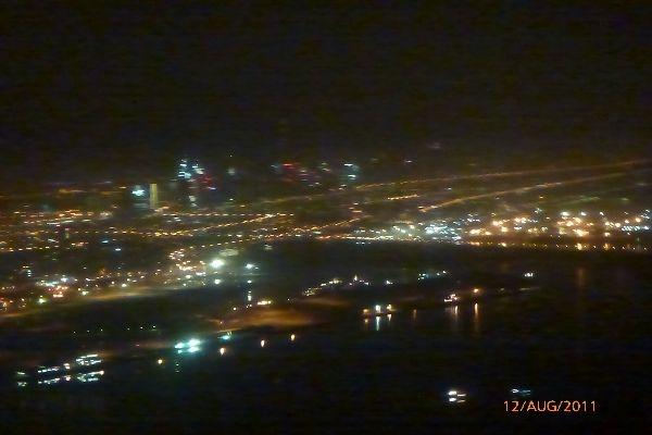 Anflug Dubai