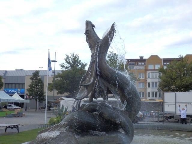 Springbrunnen in Trelleborg