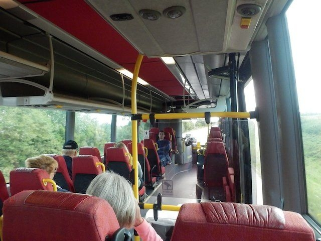 Busfahrt nach Ystad