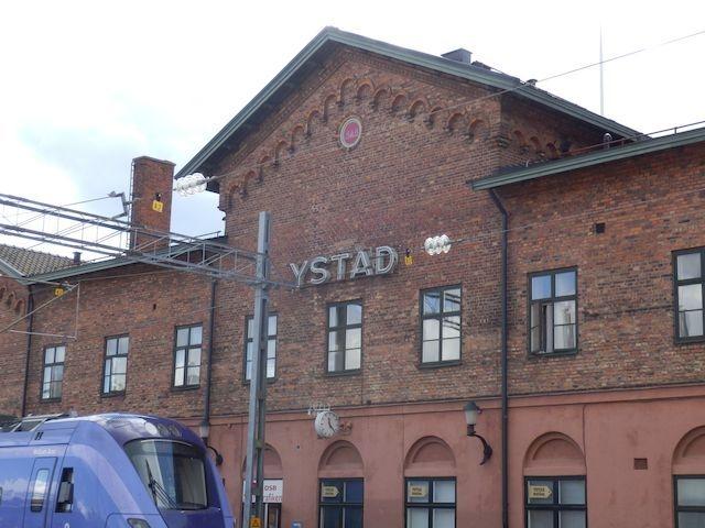Ystad Bahnhof