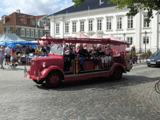 Feuerwehr-Rundfahrt in Ystad