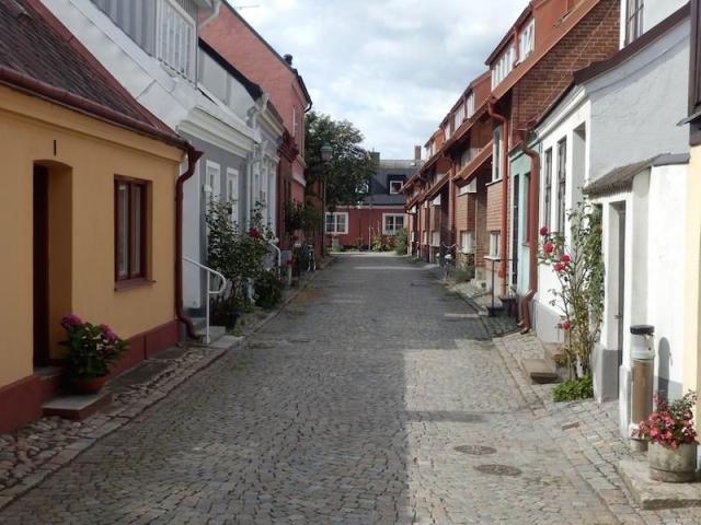 Seitenstraße in Ystad