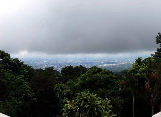 Aussicht vom Wat Phra That Doi Sunthep