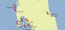 Unsere Vorplanung für das Inselhopping in der Andamanensee / Thailand 2013 8