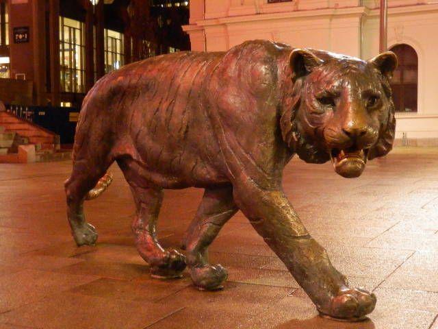 Bronzestatue in Oslo