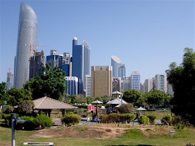Abu-Dhabi-Markaziyah Park