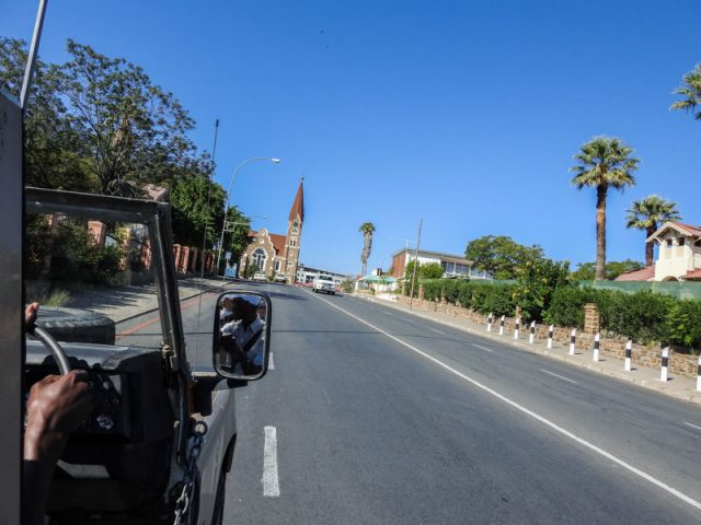 Anfahrt-Christuskirche-Windhoek