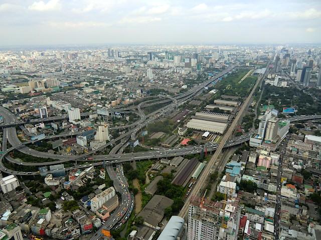 Bangkok-Aussicht