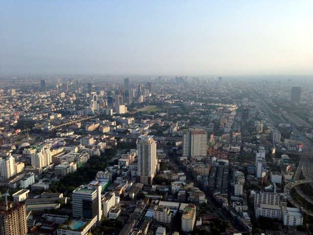 zwei Tage und eine Nacht in Bangkok