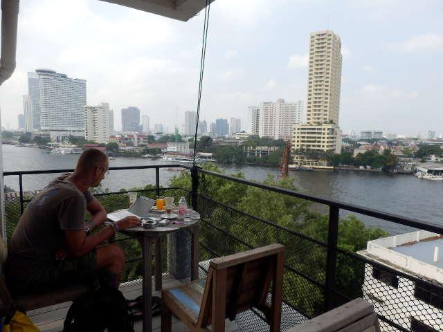 Bangkok Hotel direkt an Chao Phraya