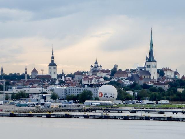 Blick-auf Tallinn