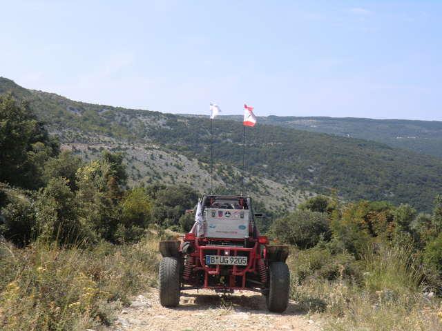 Buggy Urlaub Kroatien 2010