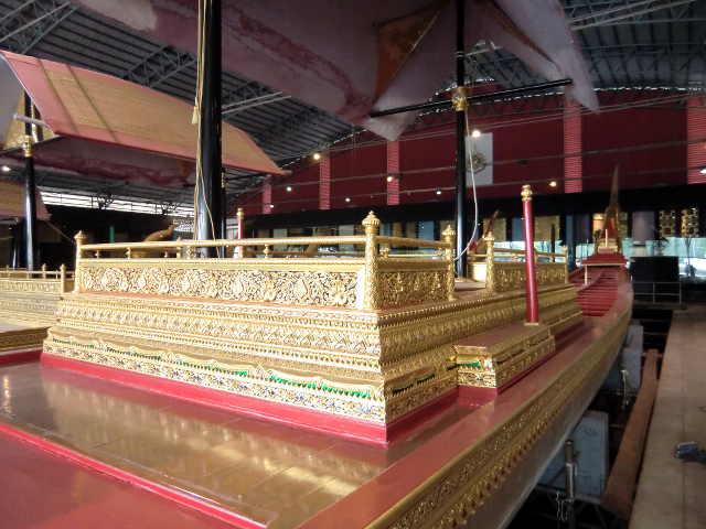 Die königlichen Barken in Bangkok