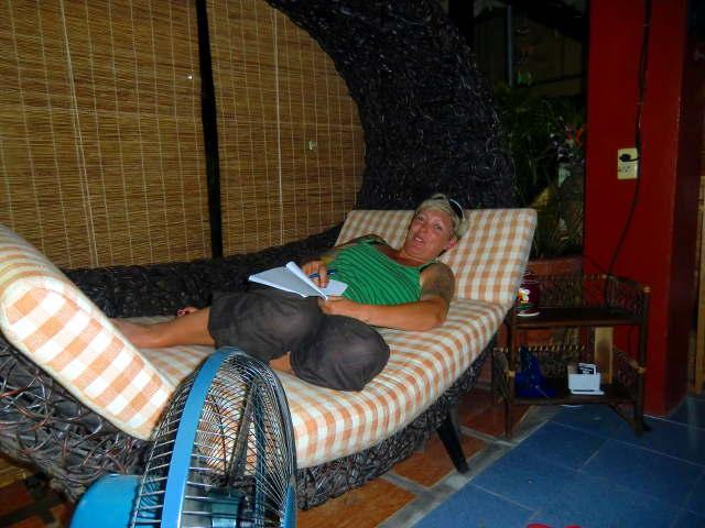 Tagebuch schreiben in Chiang Mai