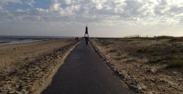 Cuxhaven 2013 - Spaziergang zur Kugelbake 1
