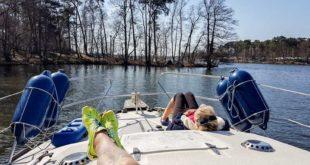 Entspannung auf dem Wasser