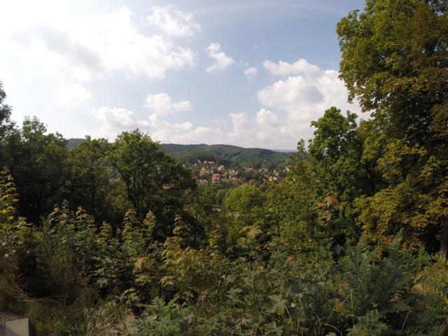 Ausblick auf Wernigerode