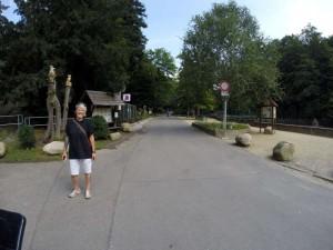 Eingang Wildpark Wernigerode