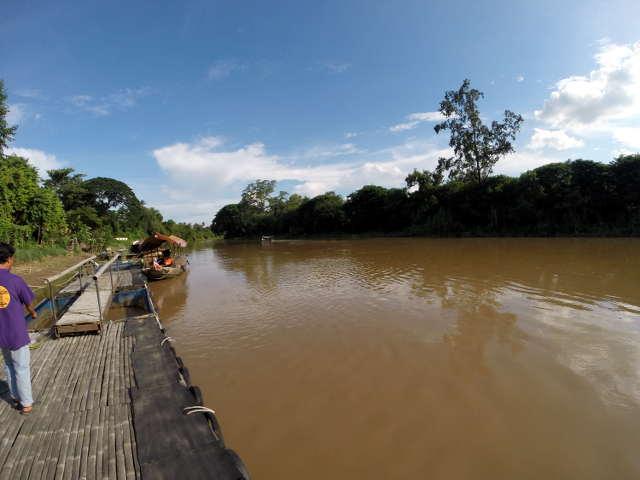 Ping River flussabwärts