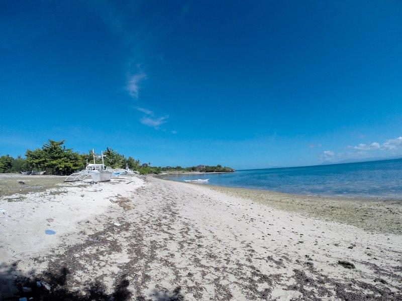 Strand bei der Siedlung Pasil