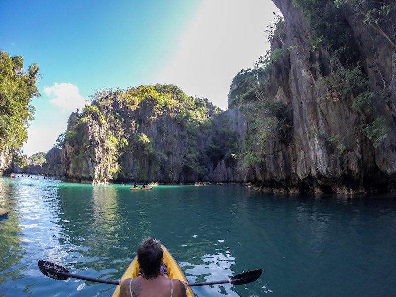 El Nido Tour A Small Lagoon