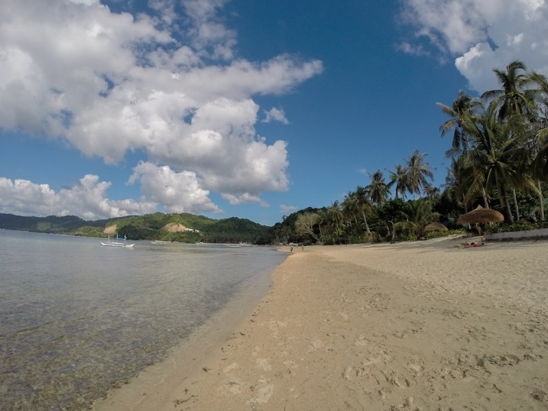 El Nido Nacpan Calitang Twin Beach