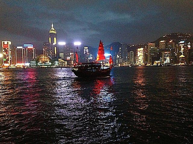 Hong-Kong-Abend