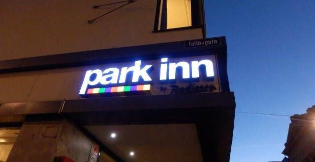 Das Hotel Park Inn Oslo