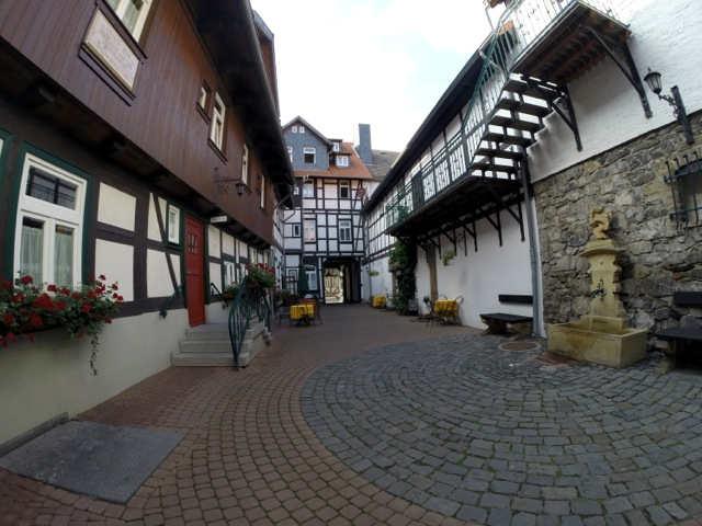 Hotel Am Anger der Innenhof