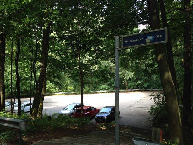 Müggelturm Parkplatz