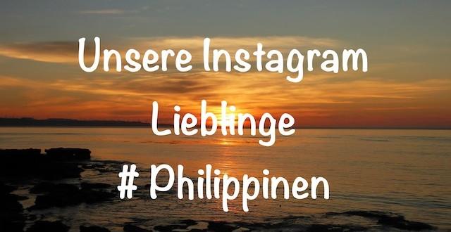 Instagram Lieblinge Philippinen