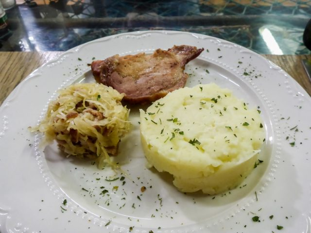 Kassler-Sauerkraut-Kartoffelpuere