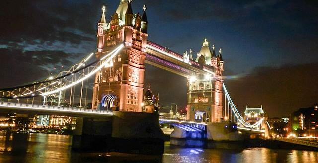 London - Ein Nachtspaziergang an der Themse 1