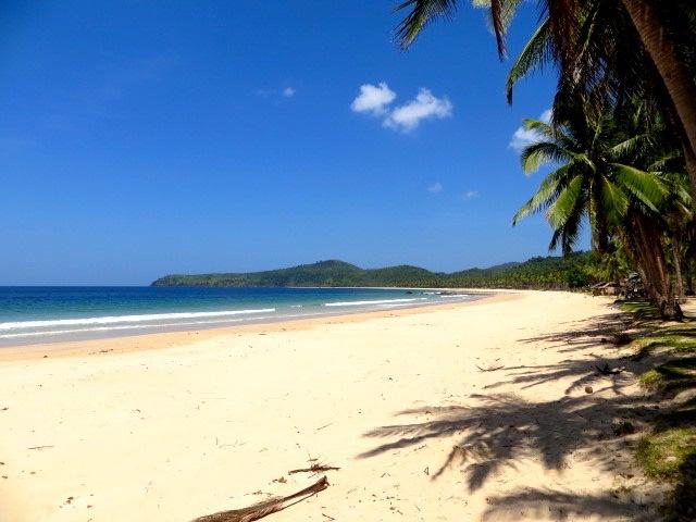 Nacpan Beach in der Nähe von El Nido