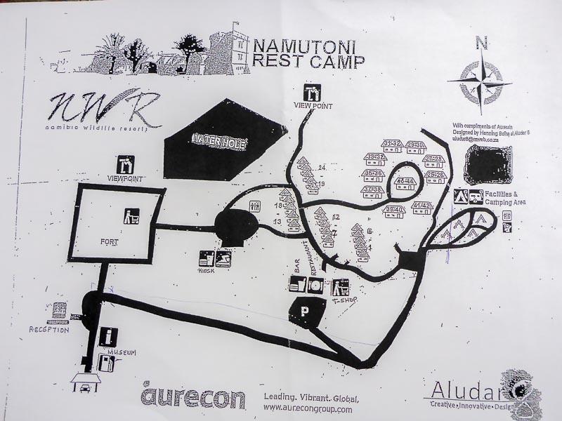 Namutoni-Camp-Map