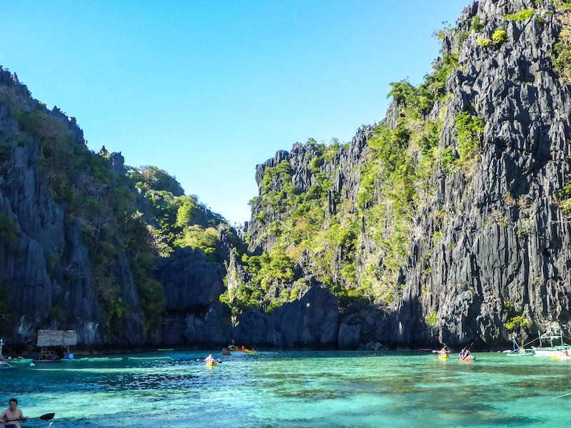 El Nido Tour A Small Lagoon