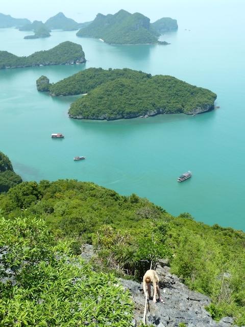 Ang Thong Nationalpark klettern