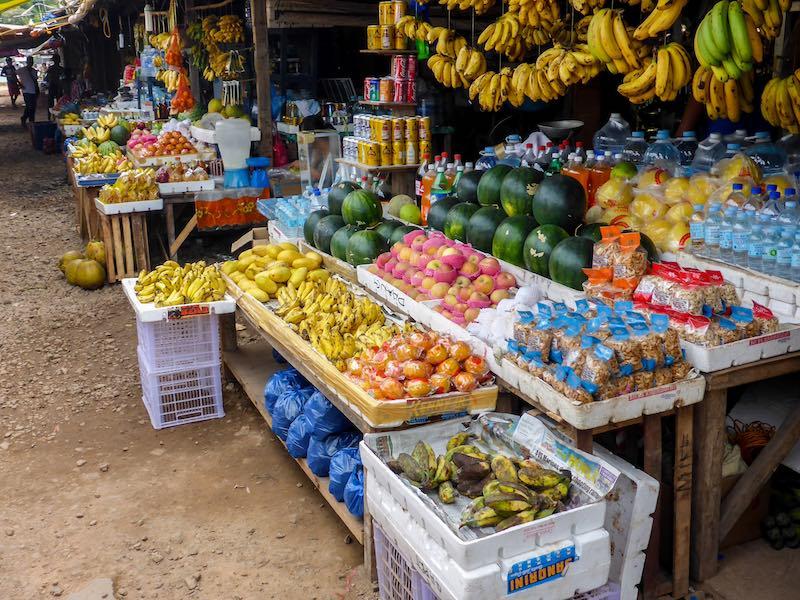 Früchte auf den Philippinen