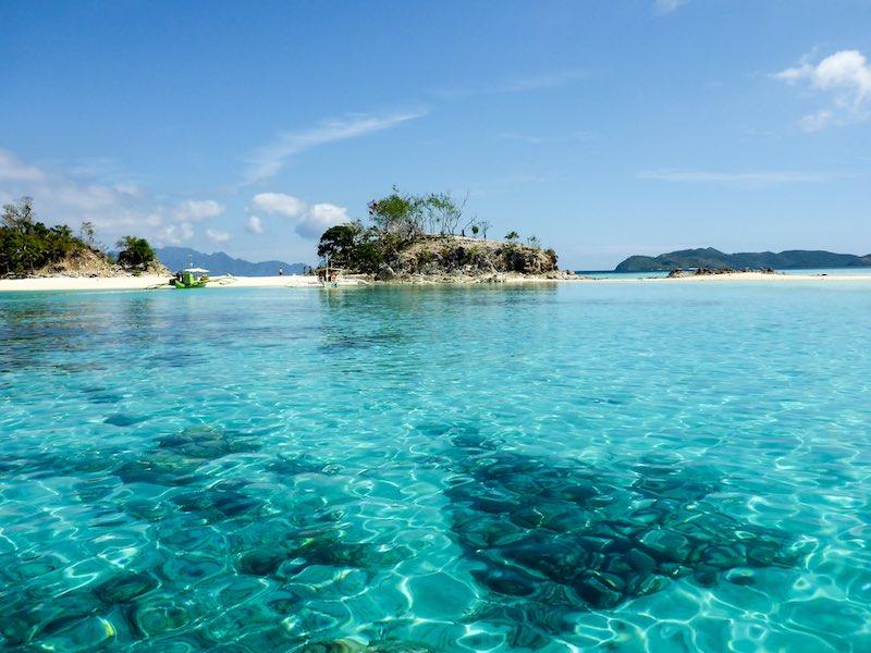klares Wasser Philippinen