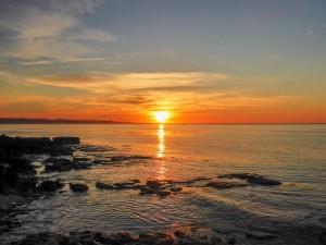 Pagudpud Sonnenuntergang