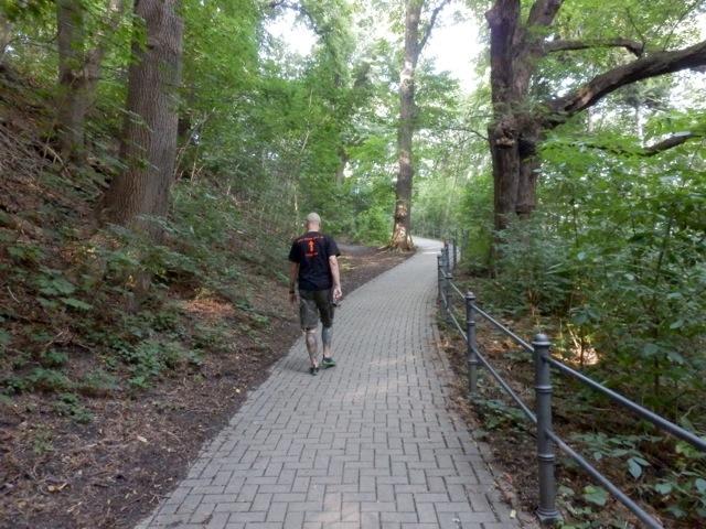 Der Weg zum Schloss Wernigerode